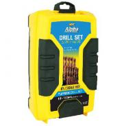 DRILL SET COBALT 25PC ALPHA  METRIC     SM25CO