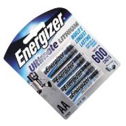 BATTERY ENERGIZER AA LITHIUM L91BP4T PKT4