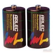 ARLEC BATTERY BSP-D CELL RECHARGEABLE PK 2  BSP-D