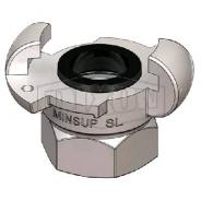 COUPLING SURELOCK FEM MINSUP 20MM  08/013/18/000