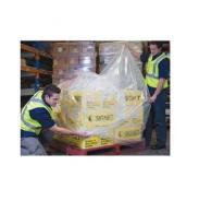 PALLET BAGS 1220mm x 2400mm 90um CLEAR 20/ROLL  11204