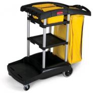 TROLLEY CLEANERS 2 TIER RUBBERMAID  9T72