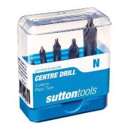CENTRE DRILL SET 5 PC