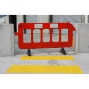BARRIER FENCING PORTABLE PLASTIC 1M x 2M  PFB200