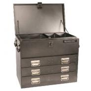 KINCROME TOOLBOX TRUCK BOX 3 DRAWER CHARCOAL 51085