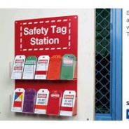 BRADY SAFETY TAG STATION   81773