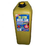 JERRY CAN 20 LITRE DIESEL YELLOW  LA510AP20Y