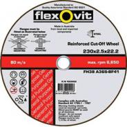 DISC C/O METAL 127X2.5X22 FH38 FLEXOVIT  1012722