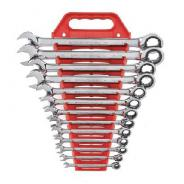 SPANNER SET GEARWRENCH RATCHET COMB 13PC  1/4- 1''  9312
