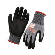 GLOVE NITRILE ARAX WET GRIP CUT 5 4543 SZ10   AND10