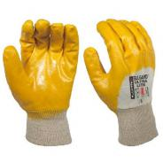 GLOVE ULTRALITE SZ10 YELLOW NITRILE ELG100010