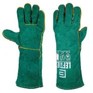 GLOVE WELDERS LEFTIES GR/GOLD (1PR)  4062LHO