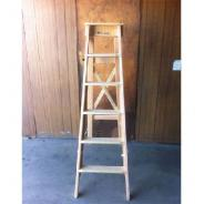 LADDER TIMBER ELECT STEP 8FT (2.4mt) BS8