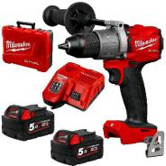 MILWAUKEE M18 FUEL 13MM HAMMER DRILL/DRIVER 5.0AH KIT  M18FPD2-502C