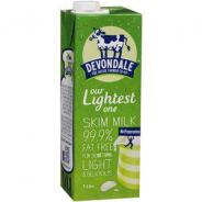 MILK LONG LIFE SKIM 1LTR  DEVONDALE