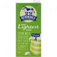 MILK LONG LIFE SKIM 2LTR  DEVONDALE
