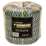 ROPE TELSTRA 6mmx400m BLUE/YELLOW COIL   K000164V