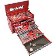 SIDCHROME TOOL CHEST MET/AF  159PC RED SCMT10112K