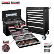 SIDCHROME TOOL KIT 262 Pc METRIC / AF SCMT10159B (BLACK)
