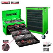 SIDCHROME TOOL KIT 262 Pc METRIC / AF SCMT10159G (GREEN)