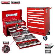 SIDCHROME TOOL KIT 262 Pc METRIC / AF SCMT10159R (RED)