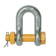 SHACKLE DEE GRADE S 16X19 GRN PIN 243319
