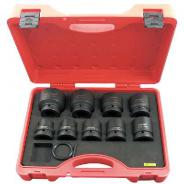 IMPACT SOCKET SET 1'' DRIVE METRIC 9PC  11801