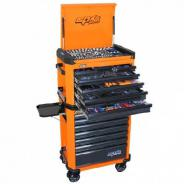 SP TOOLS CONCEPT SERIES TOOL KIT 587 PIECE METRIC/SAE ORANGE/BLACK  SP50443