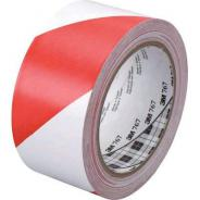 3M TAPE HAZARD RED/WH VINYL 50MMx33M  70006279411