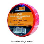 TAPE INSULATION PVC WHITE   PVCWH
