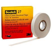 3M TAPE GLASS CLOTH SCOTCH 27 12.0MMX20MTR 3M 80012020352