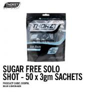 THORZT SOLO SHOT SACHET 3gm BLUE LEMONADE SUGAR FREE (50PK) SSSFBL