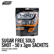 THORZT SOLO SHOT SACHET 3gm ORANGE SUGAR FREE (50PK) SSSFOR