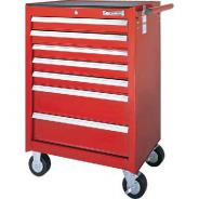 SIDCHROME TOOL TROLLEY 7 DRAWER RED  SCMT50207