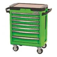 KINCROME TOOL TROLLEY 7 DRAWER GREEN  K7747G