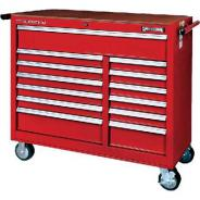 SIDCHROME TROLLEY WIDE 13 DRAWER SCMT50224